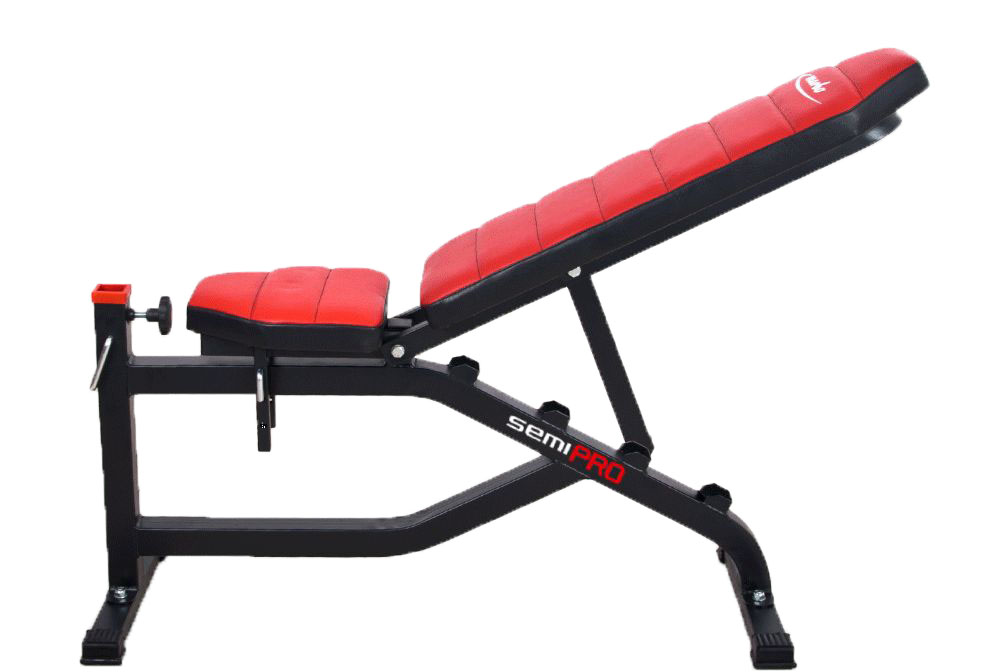 Marbo MS-L002 bench incline side view